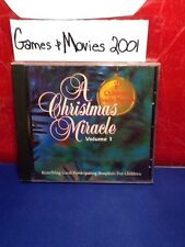 A Christmas Miracle Vol 1 K. Rogers, R. Mcentire 1995 music cd