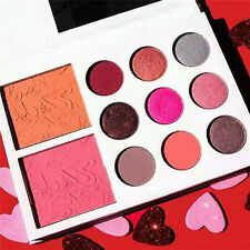 Pink 11 Colors Eye Shadow Cosmetic Makeup Shimmer Matte Eyeshadow Palette Set
