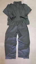 British Army Issue Olive Green BCB Waterproof Breathable Tracksuit L/M