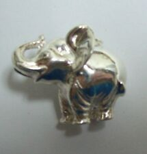 Chunky Sterling Elephant Pendent