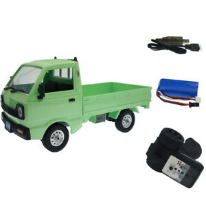 WPL RC Truck 1:10 4WD Simulation Truck Climbing Electric Toy for Boys Kids Adult