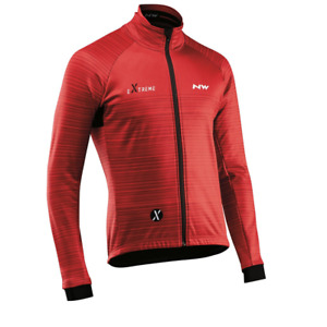 NORTHWAVE Chaqueta M/L Extreme 3 Prot. Total RED/BLACK H19-89181214-32