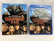 How to Train Your Dragon 1 & 2  NEW SEALED