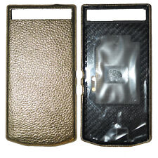 New Porsche Design Leather Battery Door Cover Grain Gold for Blackberry P'9982