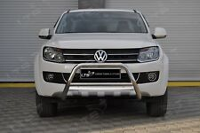 VW AMAROK CHROME NUDGE A-BAR, STAINLESS STEEL BULL BAR 2010-2015 W K