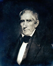 WILLIAM HENRY HARRISON DAGUERROTYPE PORTRAIT 8x10 SILVER HALIDE PHOTO PRINT