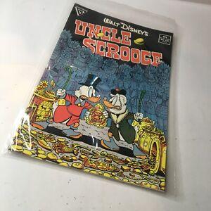 Gladstone 1987 Walt Disney's Uncle Scrooge #219 1st Don Rosa Key Comic