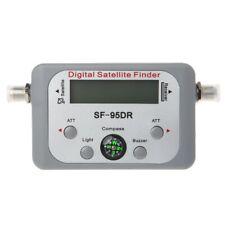 Digital Satellite Finder Meter TV Signal Sat Finder Decoder DVB-T2 LCD FTA Dish