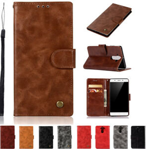 Retro Magnetic Wallet Leather Flip Case Cover For NOKIA 3 5 6 8 2 9 1 7 Plus