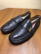 Camper Men's 11 US 45 EU Black Leather Driving Loafer Moc Toe Casual Shoes