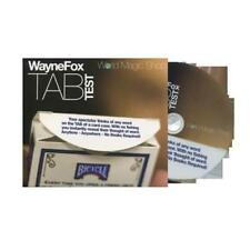 Tab (DVD and Gimmicks) by Wayne Fox  - Magic Tricks