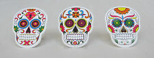 12 Dia De Muertos Day of the Dead Skeleton Cup Cake Rings Topper Party Supply