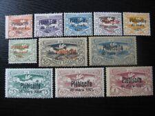 OBERSCHLESIEN UPPER SILESIA GERMAN PLEBISCITES Mi. #30-40 stamp set! CV $180.00