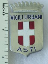 ASTI  ITALY BADGE PIN OLDER Vintage ITALIAN DISTINCTIVE INSIGNIA OBSOLETE