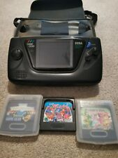Sega Game Gear Konsole mit 3 spielen