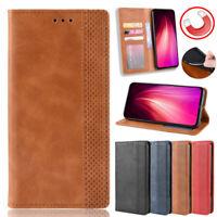 New Phone Case Leather Slim Flip Wallet Card Slot Pocket Soft Protection Cover