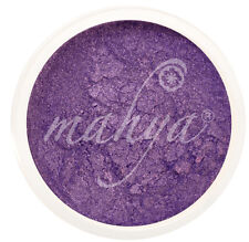 "MAHYA 100% Pure Vegan Mineral Makeup Eye Shadow Pigment ""DEEP PURPLE"" BEST DEAL!"
