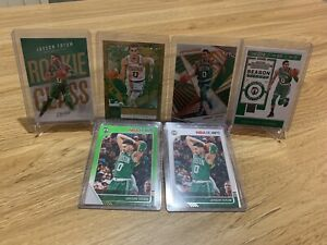 JAYSON TATUM NBA 6 CARD LOT - ROOKIE CARD - INVEST 📈