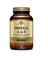Solgar Omega 3-6-9 Softgels - Pack of 60 capsules, Free P&P