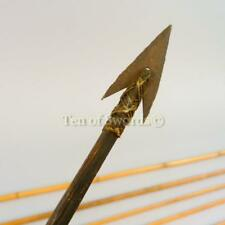 Six Metal Tipped Amazonian Arrows Spear Lances Blade Knife