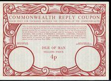 ISLE OF MAN Type XX 4p - Commonwealth - International Reply Coupon IRC