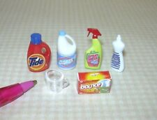 Miniature Laundry Day Assortment (6) for the DOLLHOUSE: Miniatures 1:12