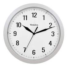"Westclox Quartz 9.75"" Wall Clock with Hidden Storage 32255"