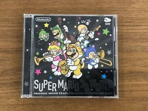 CLUB NINTENDO Original Super Mario 3D World Soundtrack CD
