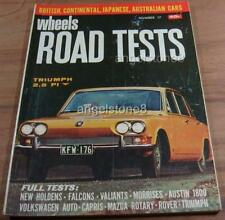1969.WHEELS Road Tests No17.FORD XW FALCON 351 GT.HT KINGSWOOD.PACER.Alfa.911