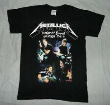 METALLICA T-SHIRT - Europen Summer Part III - 2008 - Thrash Heavy Metal - NEW