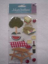 Jolee's Boutique 12 pc 3D stickers - SUMMER PICNIC