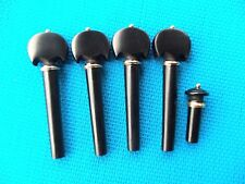 Old Violin Shop  Ebony Violin Pegs   Baroque Pegs and End Pin  Fiddle  Parts