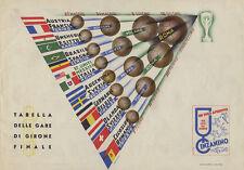 World Cup Fußball Weltmeisterschaft 1934 Offizielles Programm Reprint nur 500 Ex