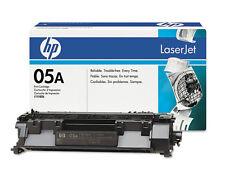12 Virgin Used Empty Genuine HP 05A Laser Cartridges CE505A