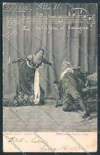 Tosca Puccini Opera postcard cartolina E3371 SZL