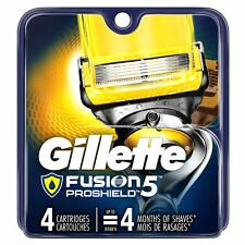 Gillette Fusion5 ProShield Men's Razor Blades 4 Blade Refills 4 Cartridge