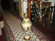 Vintage Trophy Urn Vase Table Lamp-Greek Roman Painting-Handles-#2-LQQK