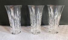 3 verres cristal taillé Saar crystal Villeroy et Boch