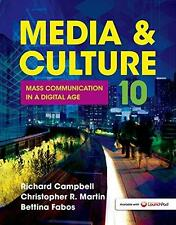 Media and Culture : An Introduction to Mass Communication by Bettina Fabos,...