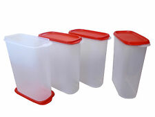 TUPPERWARE SMART SAVER# 4 AIR TIGHT/ DRY STORAGE CONTAINERS(2.3 LTR)- 4 Pcs