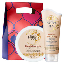 Avon Planet Spa Blissfully Nourishing Shea Butter Hand and Foot Scrub & Cream