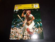 Johnny Bench 1977 Sportscaster Series Recontre Lausanne 04-22 Cincinnati Reds NM