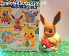 "NEW POKEMON EEVEE BATH Kids TOY 3.5"" SHOOTS WATER FUN CUTE figure bathtub Tomy"