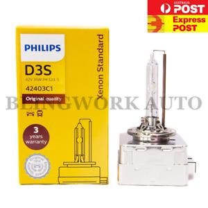 1PC PHILIPS OEM Factory Colour D3S XENON HID Bulb FOR AUDI Q5 A5 EVOQUE VW