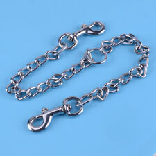 2 Way Chain Dog Leash Medium Duty Fit for Two Dogs No Tangle Double Dog Leash