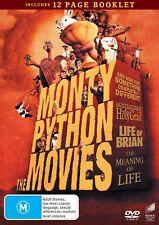 Monty Python The Movies Box Set DVD Region 4 NEW
