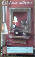 """Home Interiors and Gifts 16 pg Catalog Oct 04 Brochure 5.5""""x9"""" Free Shipping"""