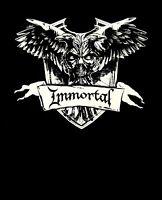 IMMORTAL cd cvr All Shall Fall CREST Official SHIRT XXL 2X new