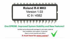 Roland R-8 Mkii Versión 1.03 Firmware Upgrade Update Eprom For R8 Tambor Máquina