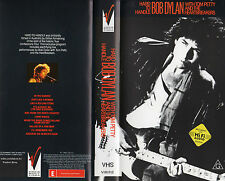 BOB DYLAN - Hard To Handle - with Tom Petty - VHS - PAL - NEW - NEVER PLAYED!!